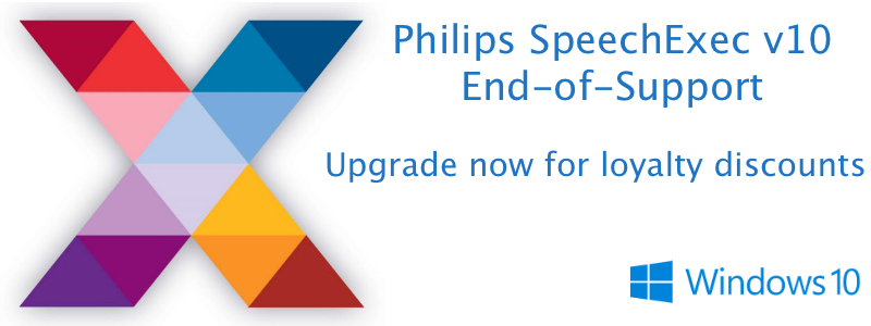 Philips SpeechExec v11 EOS Upgrade discounts Philips Australia